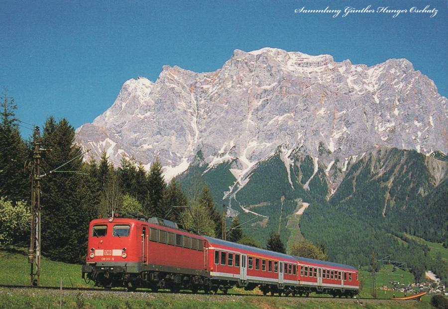 139 311mit Regionalbahn bei Leermoos (Garmisch-Partenkirchen-Reutte)
