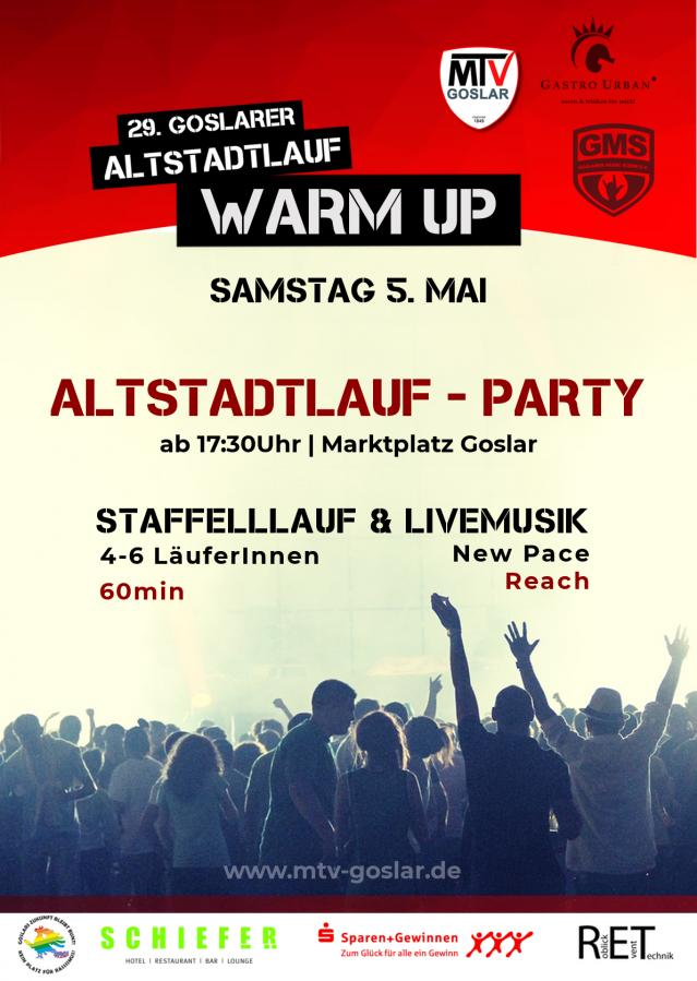Altstadtlauf - Party