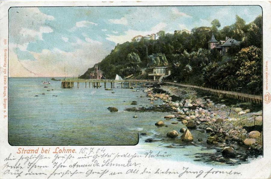 Strand bei Lohme