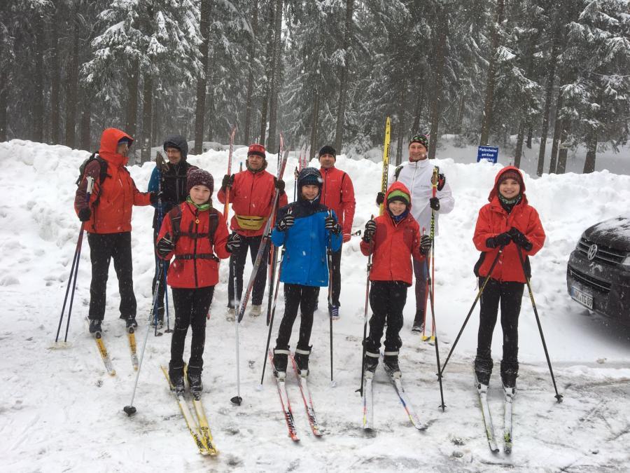 Skiwanderung Februar 2017