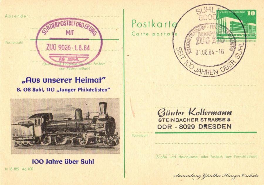Postkarte Carte postale
