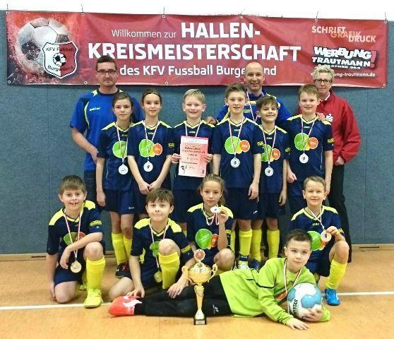 Hallen-Kreismeister 2014/15 E-Junioren: Eintracht Lützen