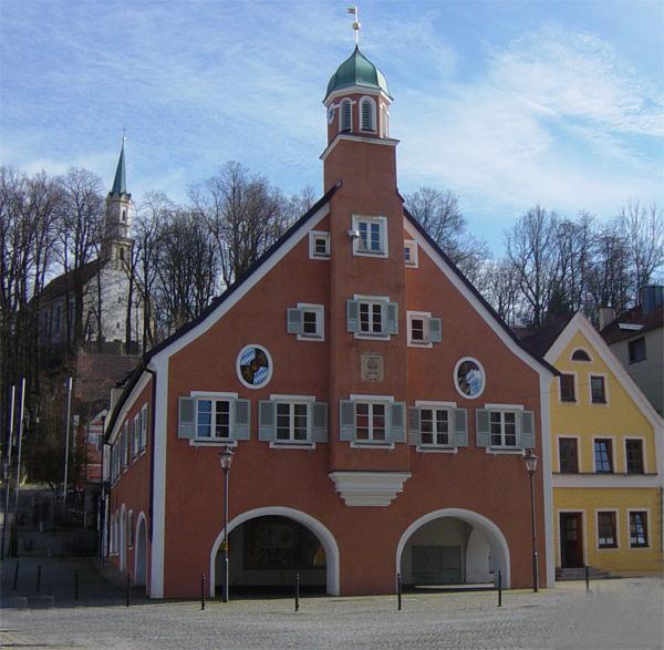 Mainburger Rathaus 2007