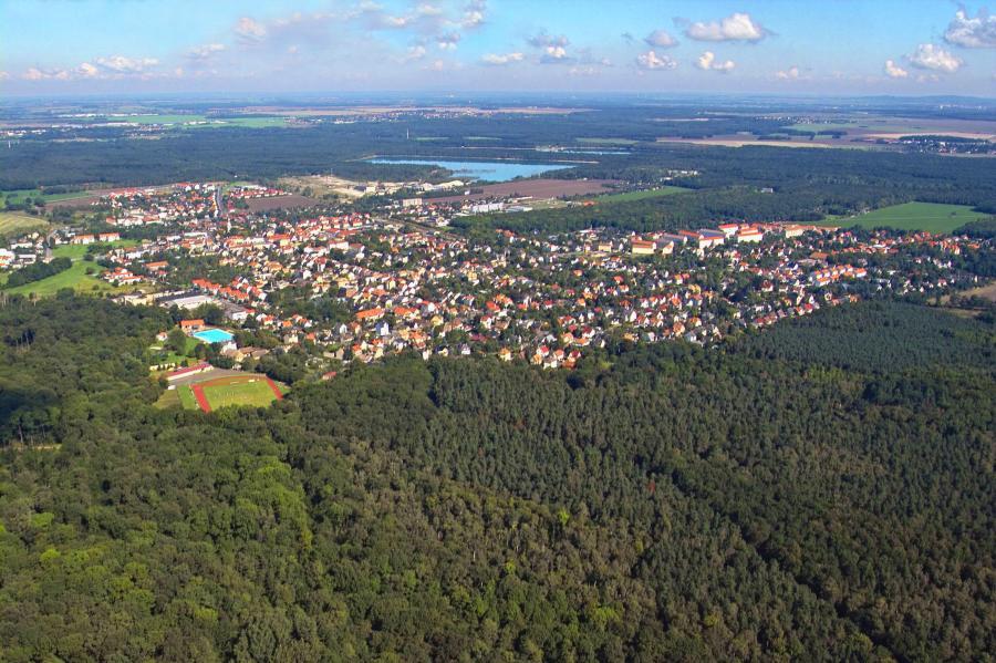 Naunhof mit seinen Ortsteilen