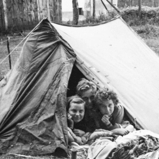 Urlaub in der DDR_Zelt Foto- Sammlung Museum OSL