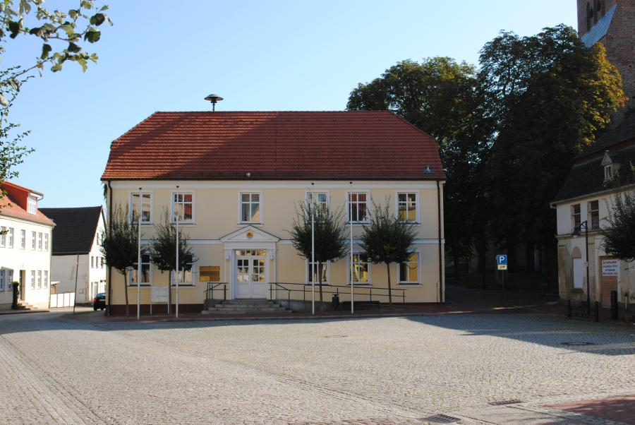 Rathaus der Stadt Bad Sülze