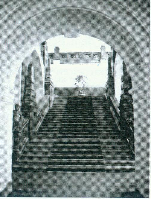 Rathaus Treppe