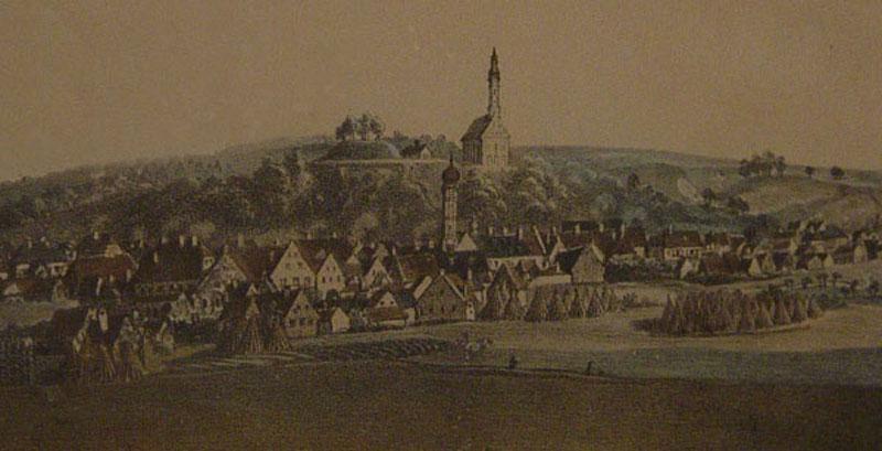 Salvatorkirche Zeichnung