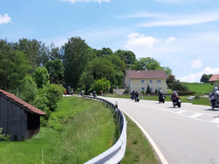 Absicherung Motorradkorso 02.06.2019