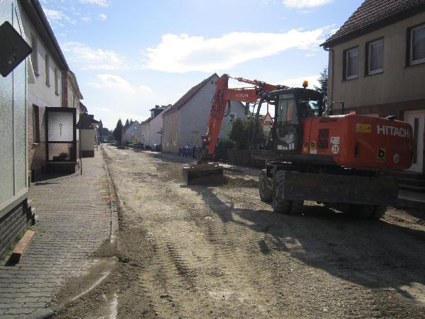 Foto: Sanierung Kasseler Straße (L 3232)