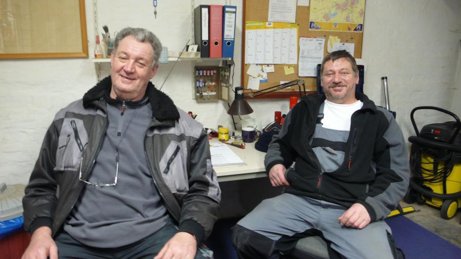 Herr Köchy und Herr Laas