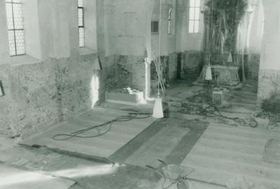 Umbau Pfarrkirche 1989