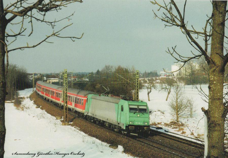 185 618 (RBSAF)  mit S 39232 bei Postbauer-Heng