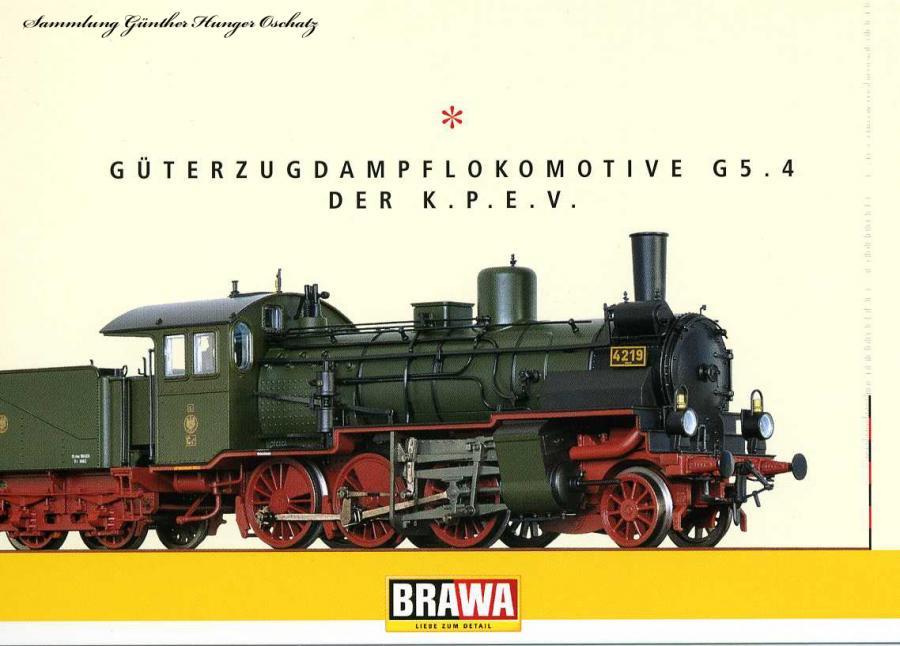 Güterzugdampflokomotive G 5.4 der K.P.E.V.
