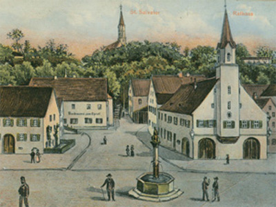 Rathaus 1906