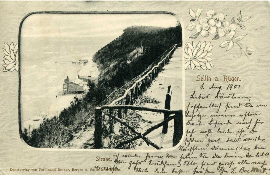 Sellin a. Rügen Strand 1901