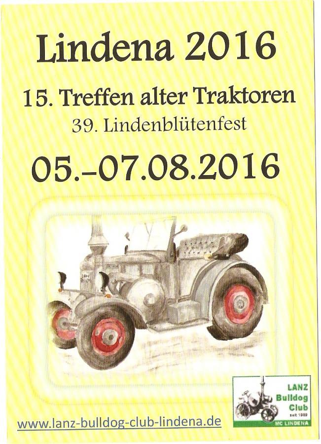 Traktorentreffen 2016