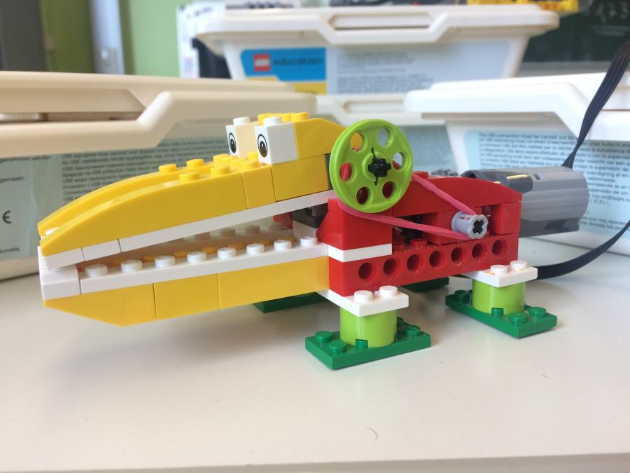 LEGO WeDo Krokodil MINT-Campus Schülerforschungszentrum