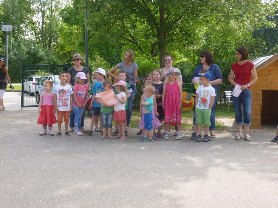 Begrüßungslied der Kinder