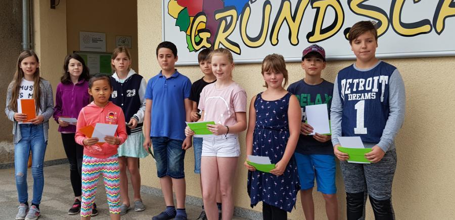 Die Sieger im Känguru-Wettbewerb 2018