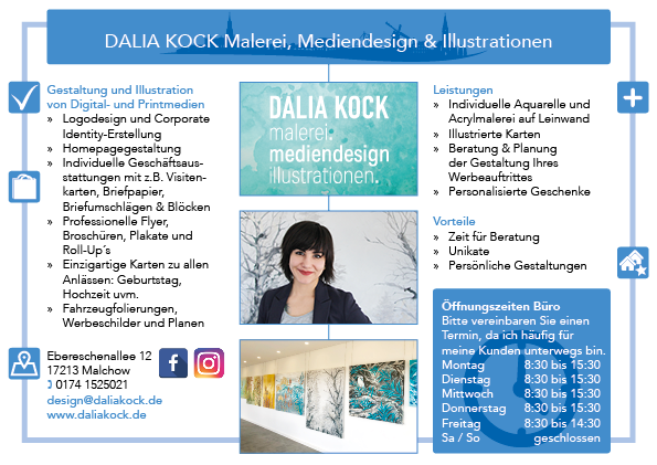 Dalia Kock Malerei Mediendesign Illustrationen