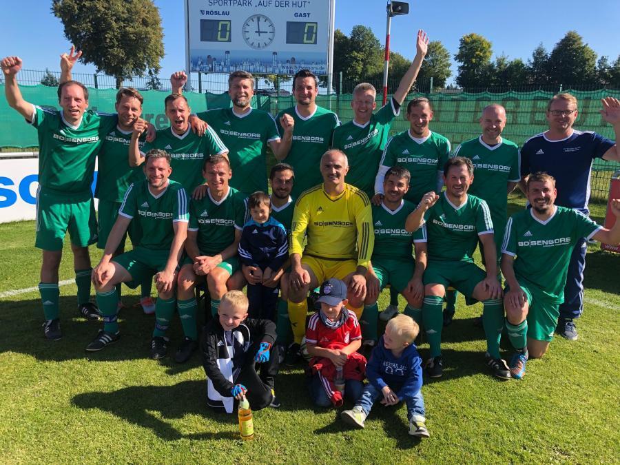 Dritter bei der bayerischen Ü32-Meisterschaft: der FC Vorwärts Röslau