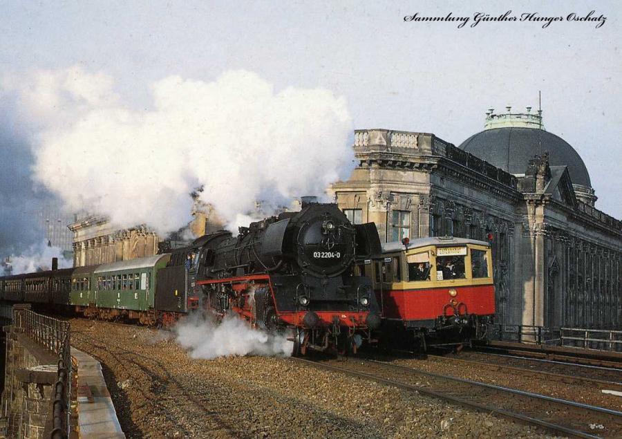 03 2204-0 Lausitzer Dampflok-Club Cottbus und ET 168 029
