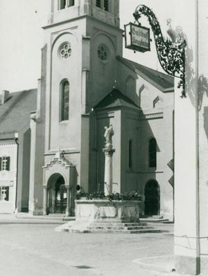 Frauenkirche 1955