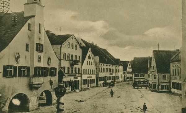 Marktplatz 1909