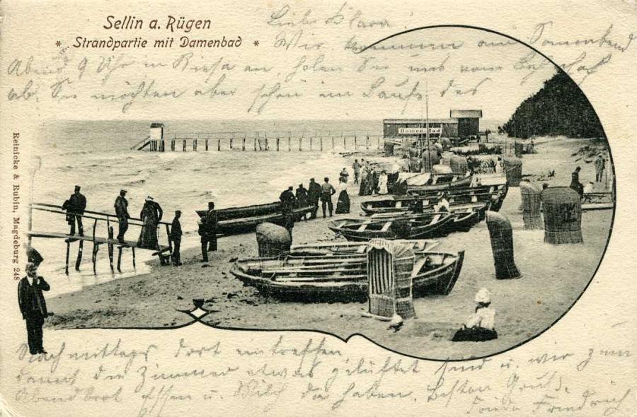 Sellin Strandpartie1904