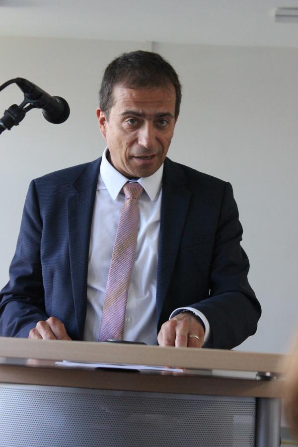 Staatssekretär Dirk Loßack