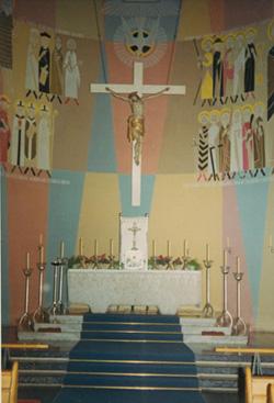 Altar der neuen Frauenkirche