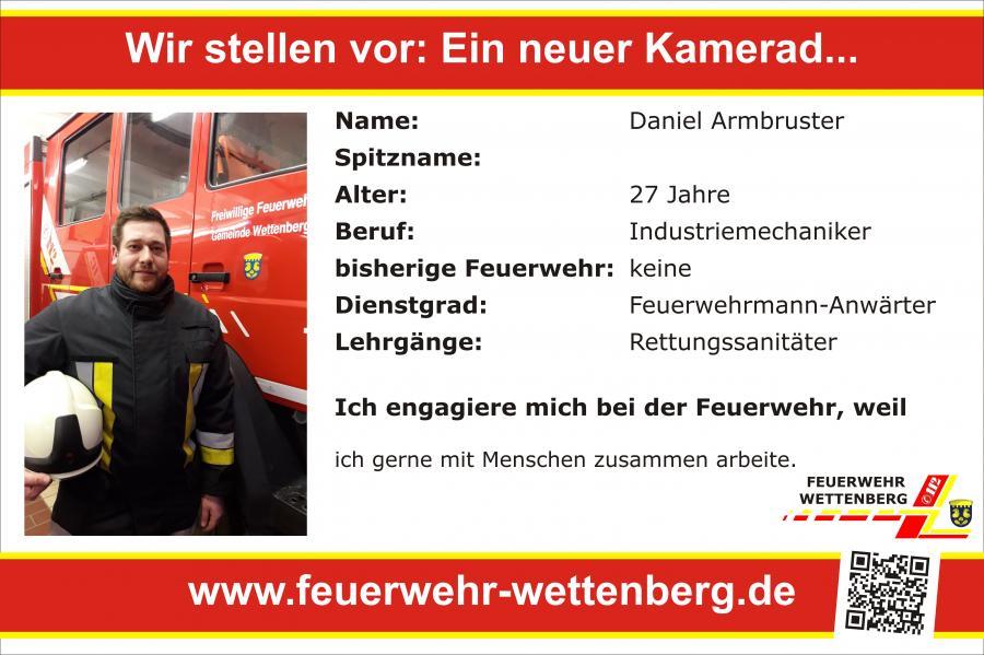 Daniel Armbruster 25.2