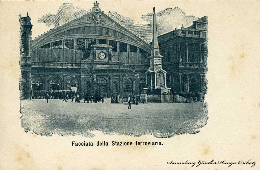 Facciata dellea Stazione ferroviaria