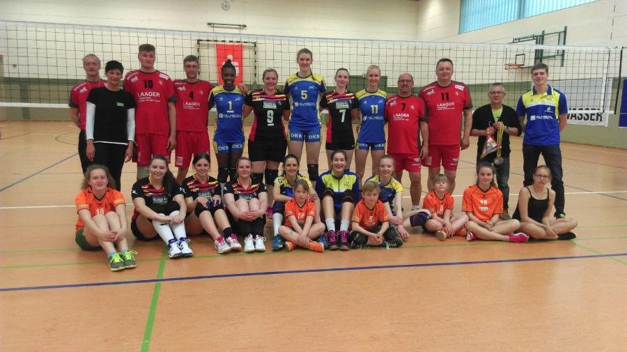 Schweriner Volleyballerinnen