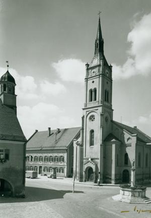Frauenkirche 1956