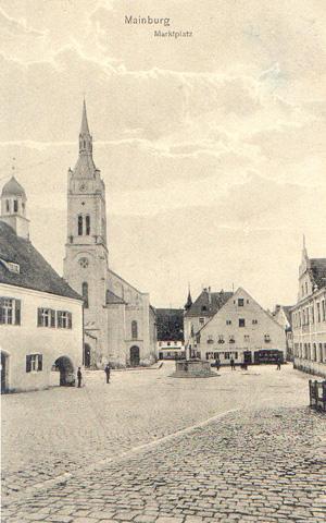 Marktplatz vor 1914