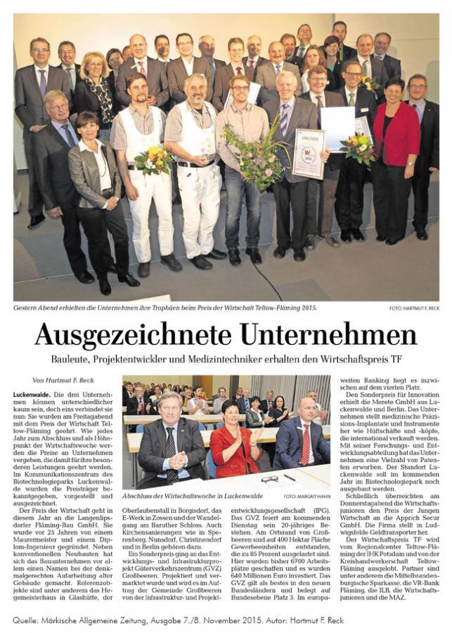 Zeitung TF