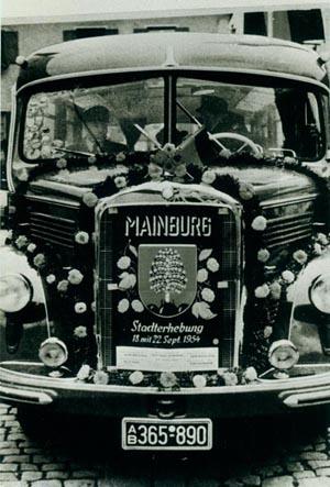 Stadterhebung Bus