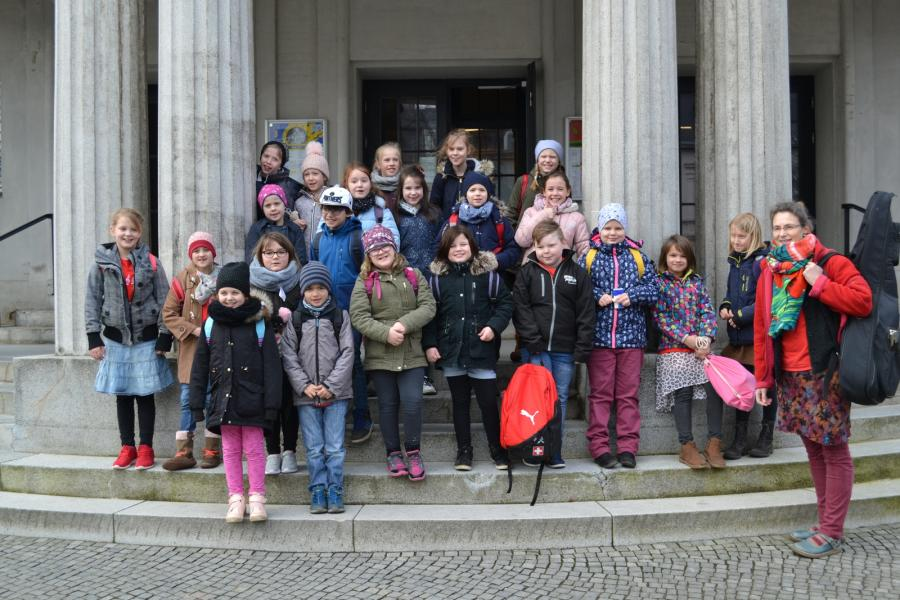 Schulchor in Stralsund