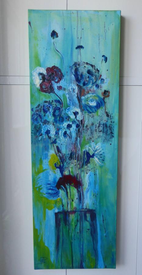 Türkisener Blumenstrauß