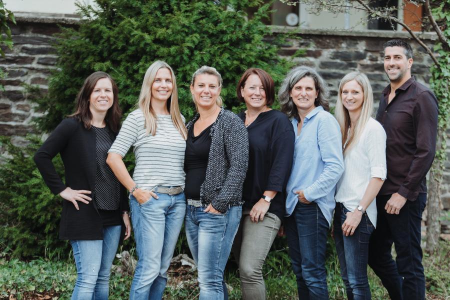 Team der Grundschule Pellingen 2019 - 20