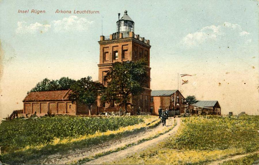 Insel Rügen  Arkona Leuchtturm