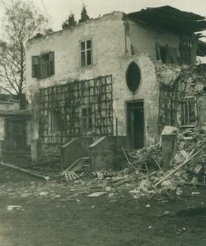Abbruch Pfarrhof 1976