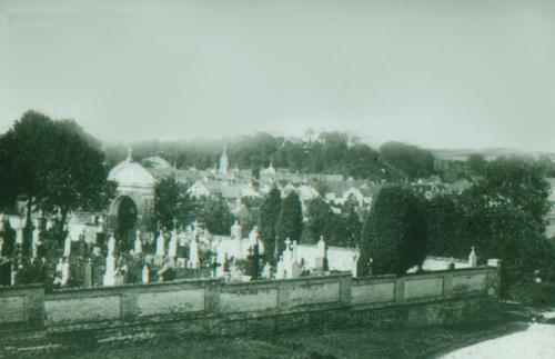 Friedhof 1923