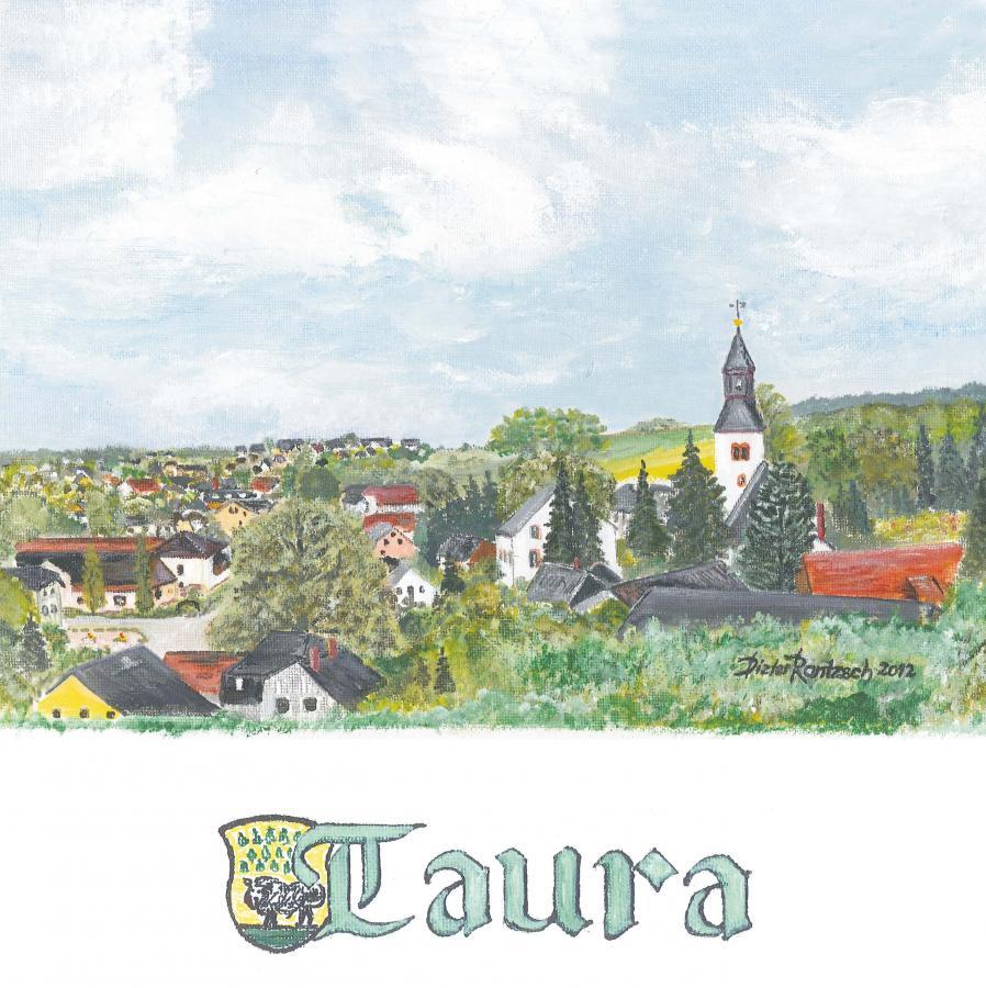 Heimatbuch anlässlich der 750-Jahrfeier von Taura