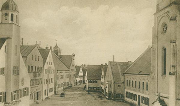 Marktplatz 1924