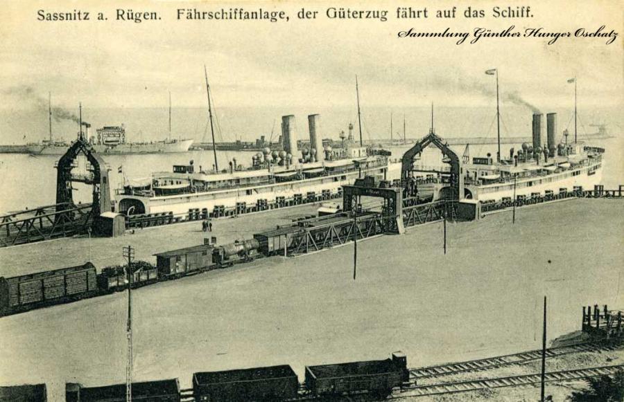 Sassnitz a. Rügen Fährschiffanlage