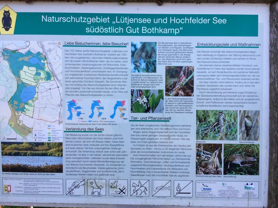 Naturschutzgebiet Lütjensee 1