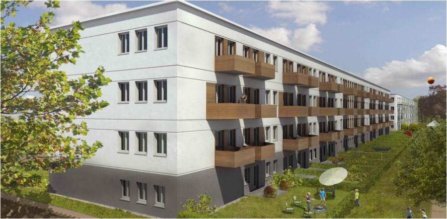 Basdorfer Gärten, Visualisierung: van geisten.marfels architekten.
